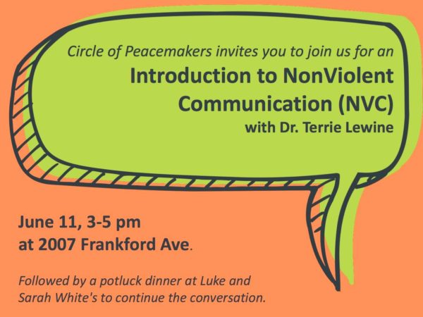 Circle of Hope, NonViolent, Communication